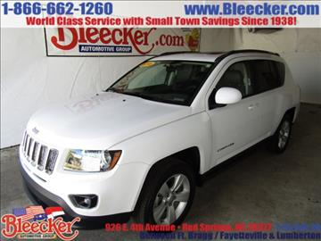 2015 Jeep Compass for sale in Red Springs, NC