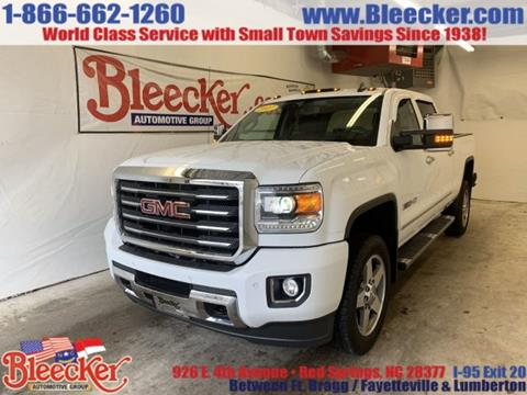 2017 GMC Sierra 2500HD for sale in Red Springs, NC
