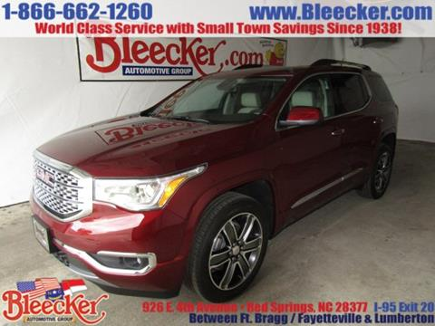 2018 GMC Acadia for sale in Red Springs, NC