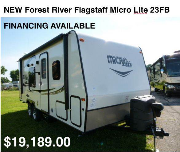 2016 Forest River Flagstaff Micro Lite 23FB