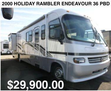 2000 Holiday Rambler Endeavor 36 PBD