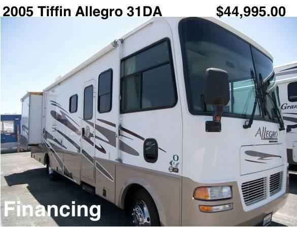 2005 Tiffin Allegro 31DA