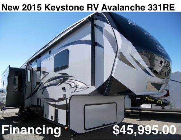 2015 Keystone Avalanche 331RE