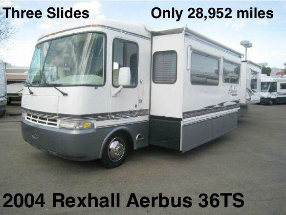 2004 Rexhall Aerbus 36TS