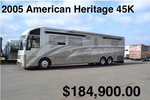 2005 American Coach American Heritage 45K