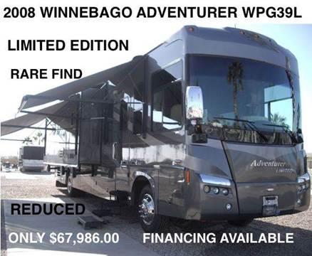 2008 Winnebago Adventurer Limited