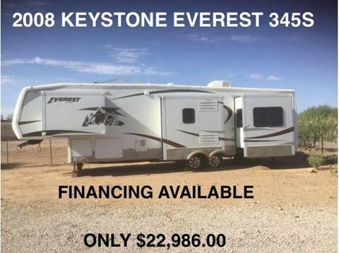 2008 Keystone Everest 345S