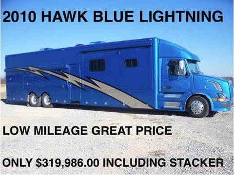 2010 Hawk Blue Lightening