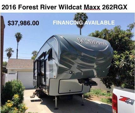 2016 Forest River Wildcat Maxx F262RGX