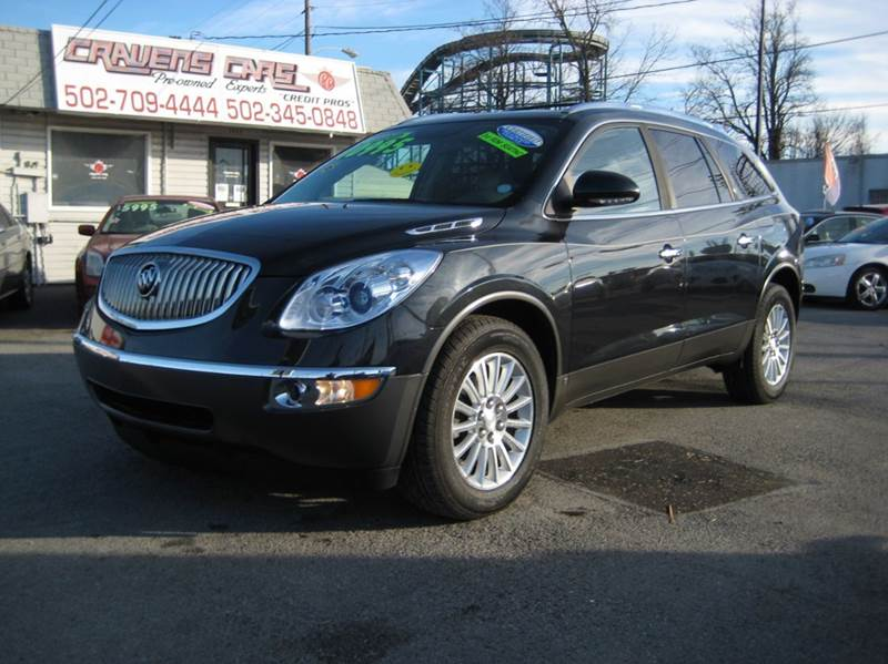 used buick enclave for sale in louisville ky. Black Bedroom Furniture Sets. Home Design Ideas