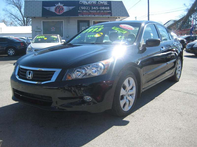 2008 honda accord ex l v6 w navi 4dr sedan 5a w navi in. Black Bedroom Furniture Sets. Home Design Ideas