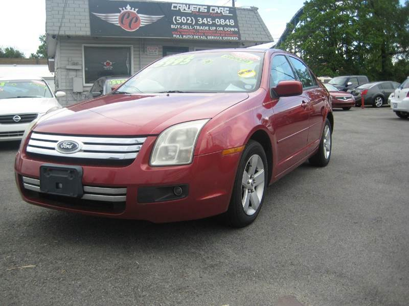 Ford Fusion V SE Dr Sedan In Louisville KY Craven Cars - 2006 fusion