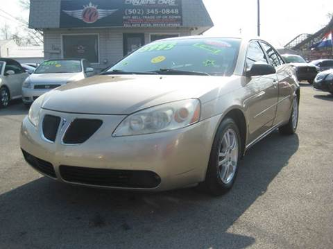 Used pontiac g6 for sale in louisville ky for Car city motors louisville ky