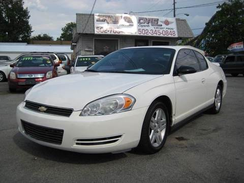 2006 Chevrolet Monte Carlo for sale in Louisville, KY
