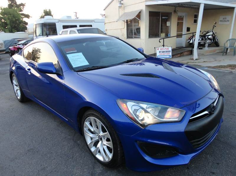 2013 hyundai genesis coupe 2 0t 2dr coupe in spring valley ca autoplus of san diego. Black Bedroom Furniture Sets. Home Design Ideas