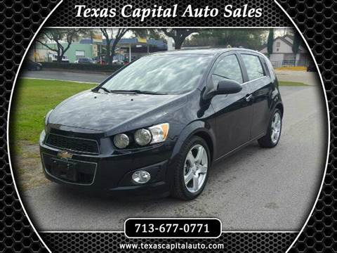 Used Chevrolet Sonic For Sale Texas Carsforsale
