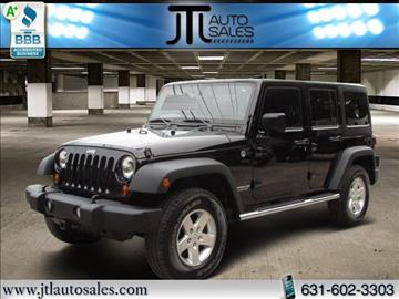 2013 Jeep Wrangler Unlimited for sale in Selden, NY