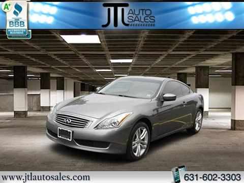 2010 Infiniti G37 Coupe for sale in Selden, NY