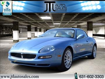 2002 Maserati Coupe for sale in Selden, NY