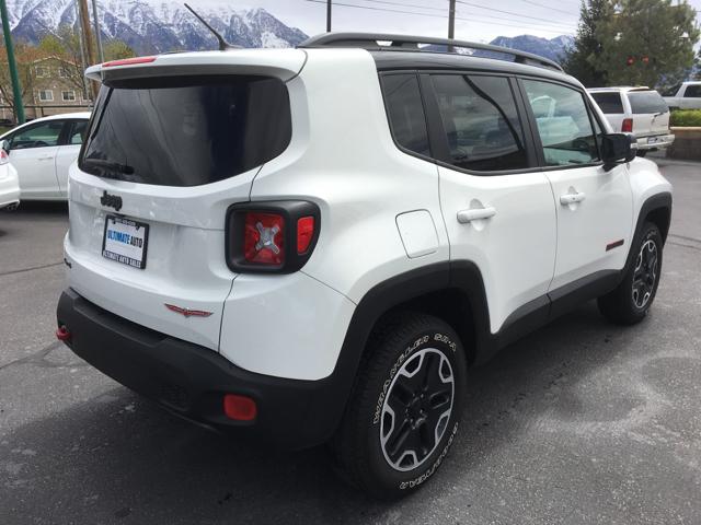 2016 Jeep Renegade Trailhawk 4x4 4dr SUV - Orem UT