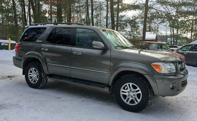2006 toyota sequoia limited 4dr suv 4wd in traverse city mi hammonds auto. Black Bedroom Furniture Sets. Home Design Ideas