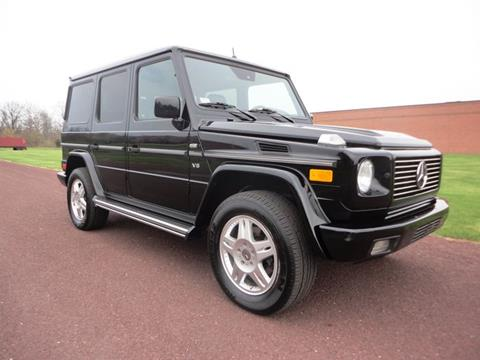 2002 mercedes benz g class for sale in north wales pa