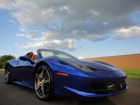 2014 Ferrari 458 Spider For Sale In Pennsylvania Carsforsale