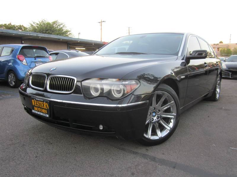 2005 bmw 7 series for sale in dearborn mi. Black Bedroom Furniture Sets. Home Design Ideas