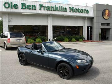 Used cars automotive repair specials oak ridge tn 37830 for Ole ben franklin motors