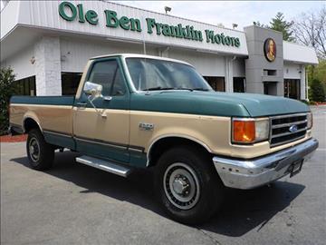 1989 Ford F-250 for sale in Oak Ridge, TN