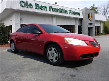 2006 Pontiac G6 for sale in Oak Ridge, TN