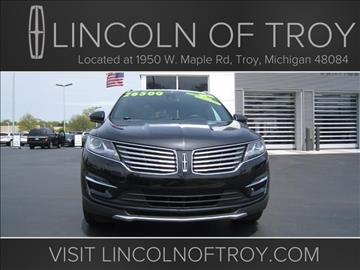 2015 Lincoln MKC for sale in Troy, MI