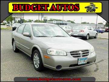 2001 Nissan Maxima for sale in Shakopee, MN