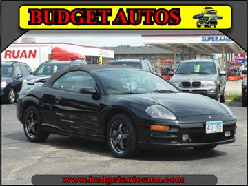 2001 Mitsubishi Eclipse Spyder for sale in Shakopee, MN