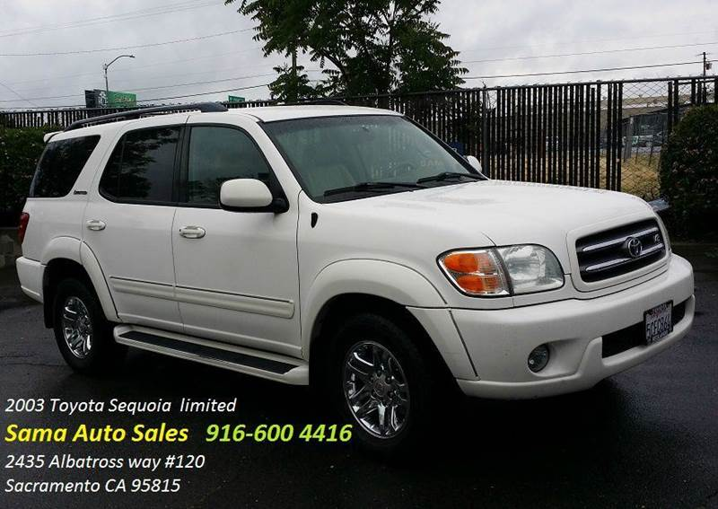 2003 toyota sequoia limited 4dr suv in sacramento ca sama auto sales. Black Bedroom Furniture Sets. Home Design Ideas