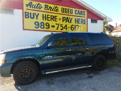 2006 Cadillac Escalade ESV for sale in Saginaw, MI