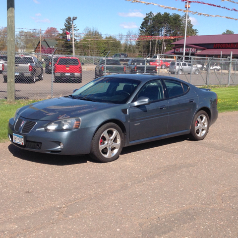 2007 pontiac grand prix gxp 4dr sedan in cambridge mn affordable auto sales. Black Bedroom Furniture Sets. Home Design Ideas