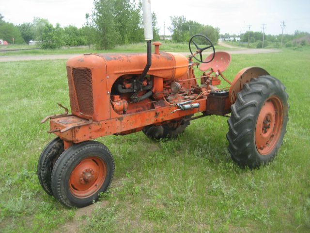 1937 Allis Chalmers Wc Tractor