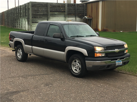 2004 Chevrolet Silverado 1500 for sale in Cambridge, MN