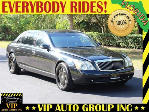 2005 Maybach 62 for sale in Clearwater, FL