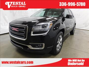 2016 Gmc Acadia For Sale North Carolina
