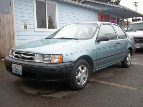 1994 Toyota Tercel for sale in Roy, WA