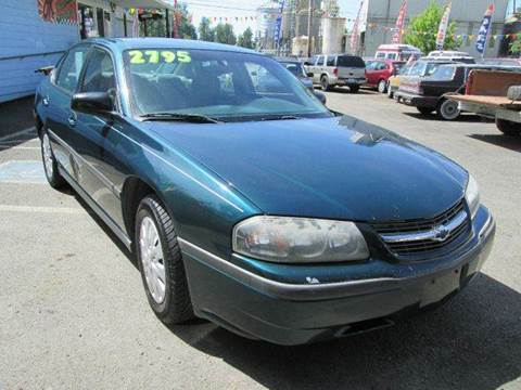 2000 Chevrolet Impala for sale in Roy, WA