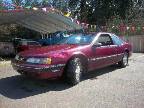 1990 Ford Thunderbird For Sale In Roy WA