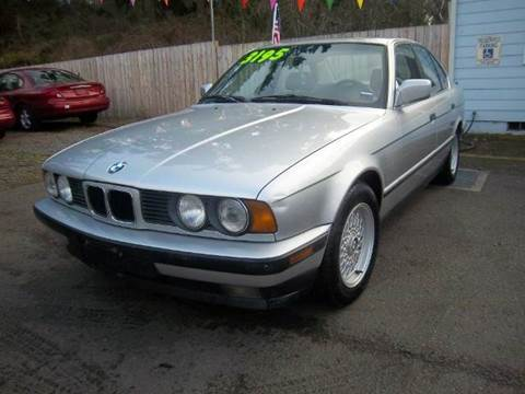 1990 BMW 5 Series for sale in Roy, WA