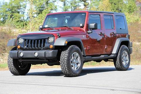 2008 Jeep Wrangler Unlimited for sale in Hampstead, NH