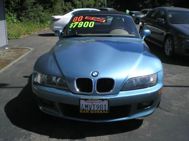 2000 BMW Z3 2.3 2dr Convertible - Napa CA