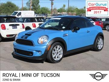 2014 MINI Coupe for sale in Tucson, AZ