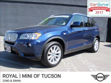 2014 BMW X3 for sale in Tucson, AZ