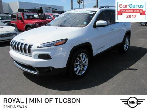 2015 Jeep Cherokee for sale in Tucson, AZ